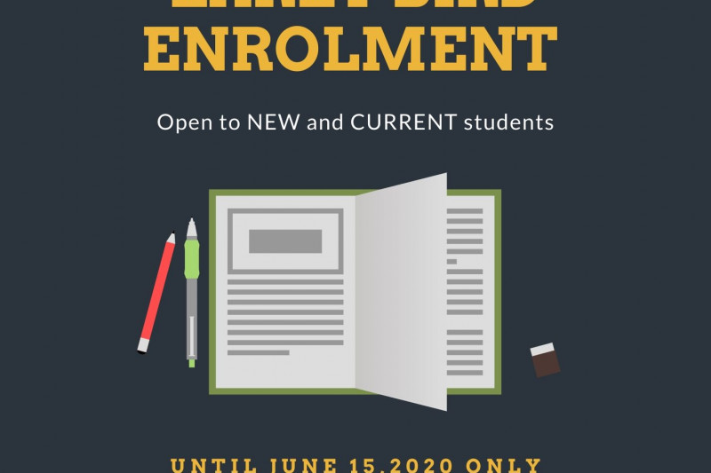 Early Bird Enrolment